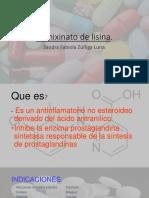 Clonixinato de Lisina