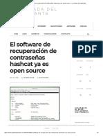 El Software de Recuperación de Contraseñas Hashcat Ya Es Open Source – La Mirada Del Replicante