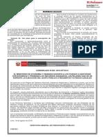 EL MINISTERIO DE ECONOMÍA Y FINANZAS EXHORTA A LOS PLIEGOS A GESTIONAR CON EFICIENCIA Y PROBIDAD LOS RECURSOS ASIGNADOS, CAUTELANDO QUE NO SE SUPEDITE LA EJECUCION DEL GASTO PÚBLICO A REQUISITOS Y/O PAGOS ILEGALES