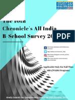 B School survey