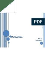 16741572 Motivation PPT by Afiz