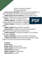 Guía derecho. Penal