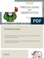 Fiqha Rosa (k012181160) Tugas Prof.ridwan Person-years of Observation