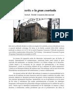 Auschwitz o La Gran Coartada