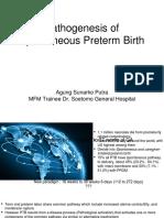 Pathogenesis of Preterm Labor