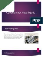 Corrosión Por Metal Liquido