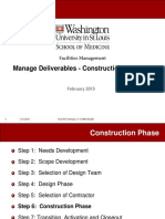 Deliverables in Construction