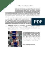 Forearm training Guide