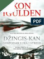 Conn Iggulden - Dzingis Kan 02 Gospodar Luka i Strele