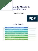 Econometría Más Allá Del Modelo de Regresión Lineal