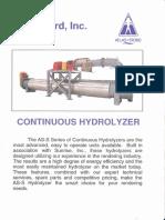 Hidrolizador.continuo - Atlas.stord