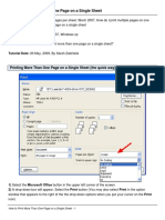 How to Print More Than One Page on a Single Sheet.pdf