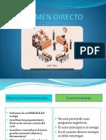 Examen Directo Dpp