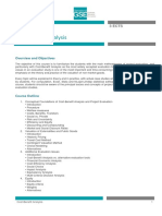 Course p015 Cost Benefit Analysis
