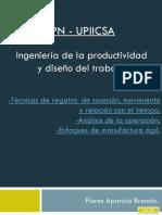 [PPT] Ingeniería de La Productividad y Diseño Del Trabajo - Aparicio [IPN]
