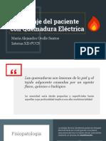 ABORDAJE QUEMADURAS ELECTRICAS