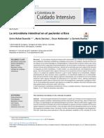 La Microbiota Intestinal en El Paciente 2019 Acta Colombiana de Cuidado Int