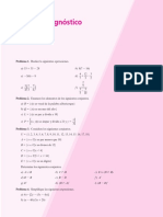 diagnóstico de algebra lineal