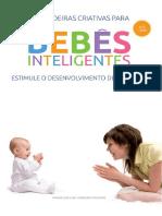 0 a 1 ano Brincadeiras criativas para bebês inteligentes (1)