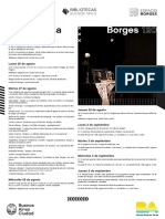 Programación Borges 120 Aniversario