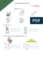 Guía de actividades Lenguaje y comunicación