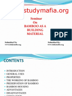 civilBAMBOO AS A BUILDING MATERIAL ppt.pptx