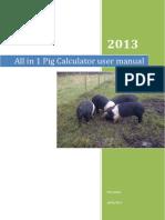 All in 1 Pig Calculator User Manual Version 1