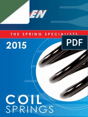 Kilen 11904 Coil Spring