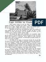 28 Lago Atitlán en Guatemala