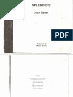 Splendids - Jean Genet