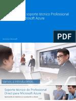 Para Empezar Con Professional Direct Para Microsoft Azure