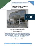pip municipalidad