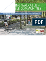 Creating Walkable and Bikeable Communities Ibpi Master Plan Handbook Final