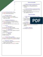 fatores de próclise