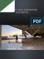 Baterías Para Aeronaves Eléctricas