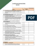 Lista de Verificación ISO 14001-2015