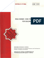 Iraqi Seismic Code 1997-Arabic-English