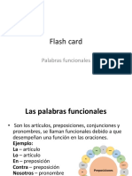 Flash Card Funcionales