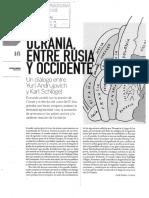 Ucrania entre Rusia y occidente