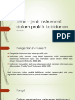 Jenis – Jenis Instrument Dalam Praktik Kebidanan