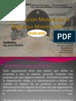 Organización Minera de La Empresa Minería Ml