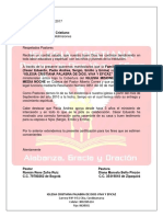 Certificacion Familia Moreno Torres