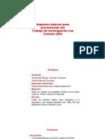 11. La Inv. Mono. Aspectos Formales Formato APA 2016-2