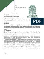 Informe jurisprudencial Sent c-420 de 92