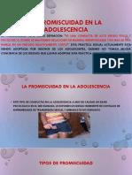 La Promiscuidad en La Adolescencia