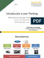 Clase 1 - Introducción a Lean Thinking