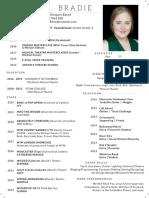 Performer CV