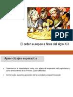 El Orden Europeo a Fines Del Siglo XIX