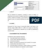 Inspeccion visual soldadura
