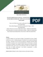 Pesquisa histórica Plantas medicinais